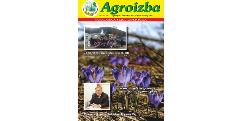 Agroizba nr 1 (65) styczeń – luty 2016