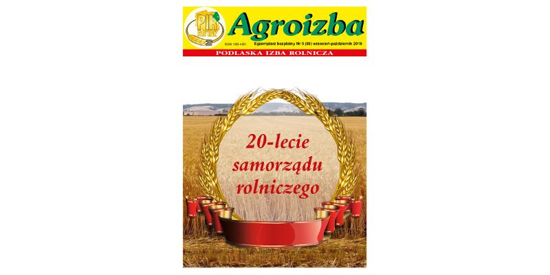 Agroizba nr 5 (69) wrzesień – październik 2016
