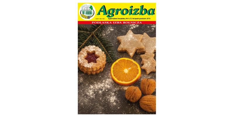 Agroizba nr 6 (70) listopad – grudzień 2016