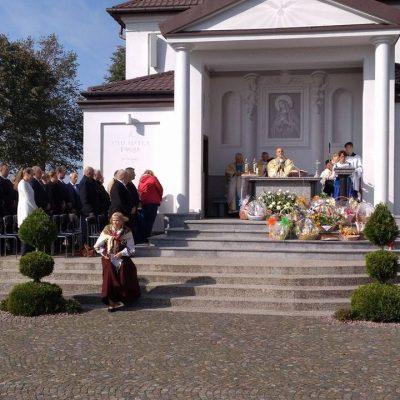 Obchody Dnia Jedności Rolniczej w Sanktuarium Matki Bożej Bolesnej w Świętej Wodzie