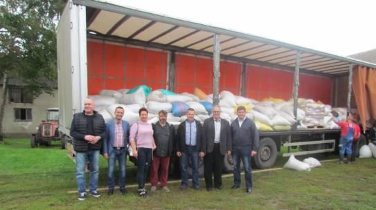 Pomoc rolnikom poszkodowanym przez nawałnice