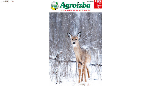AGROIZBA NR 6 (76) LISTOPAD – GRUDZIEŃ 2017
