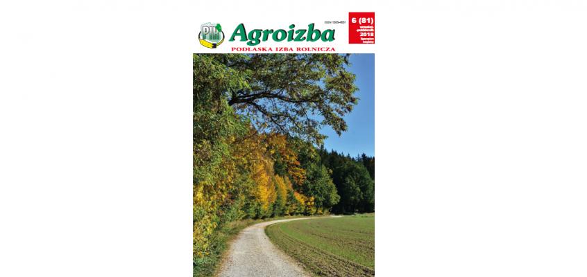 Agroizba nr 5 (81) wrzesień – październik 2018
