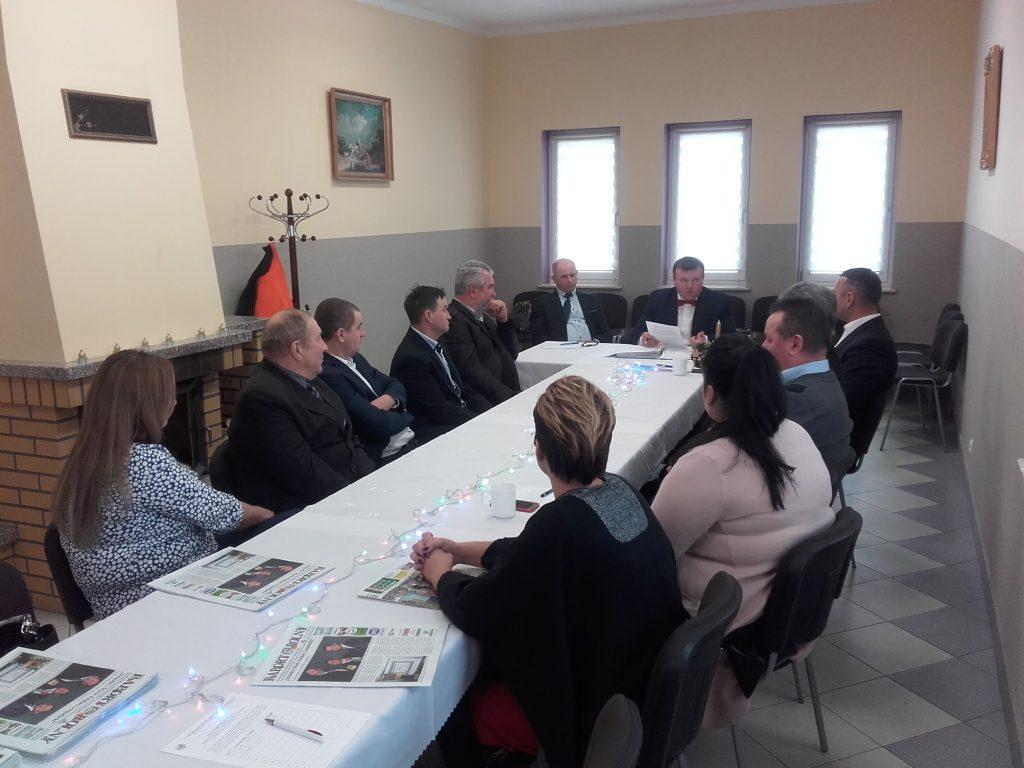 Posiedzenie Rady Powiatowej Podlaskiej Izby Rolniczej