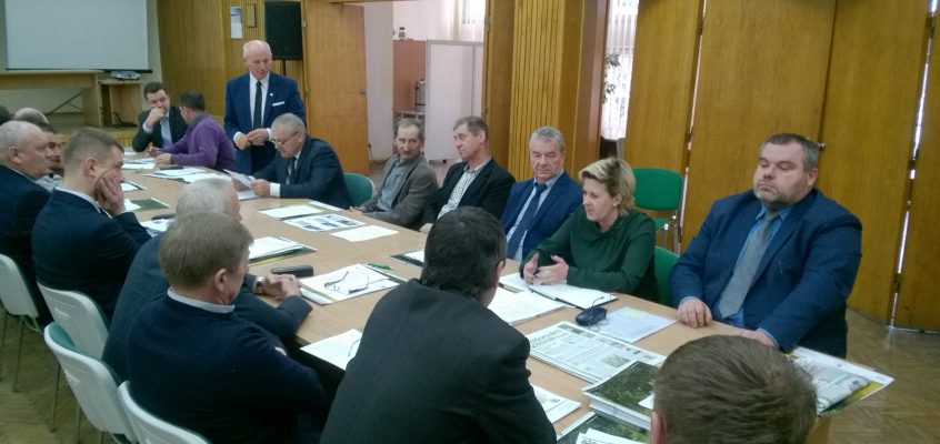 Posiedzenie Rady Powiatowej Podlaskiej Izby Rolniczej powiatu sokólskiego