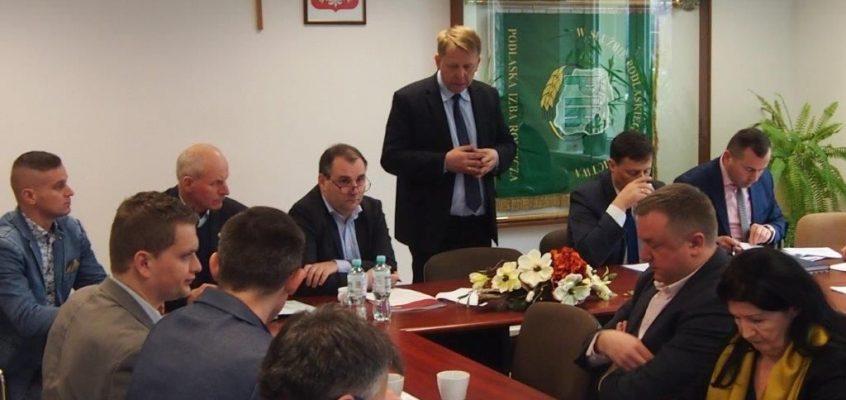 Spotkanie ws ustawy o restrukturyzacji podmiotów prowadzących gospodarstwa rolne