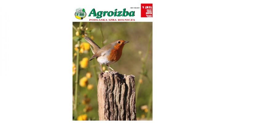 Agroizba nr 1 (83) styczeń – marzec 2019