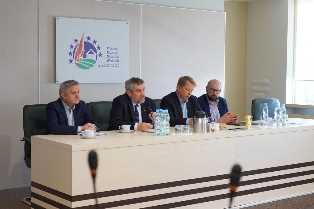 Porozumienie Rolnicz   spotkanie grupy roboczej z ministrem 1024x683