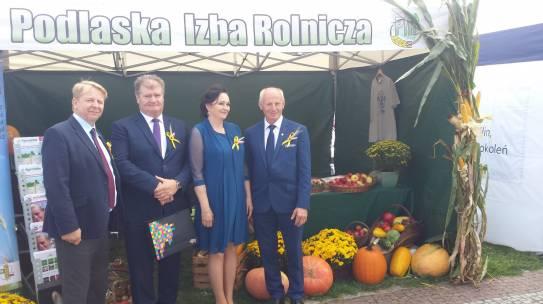 Dożynki Wojewódzkie w Tykocinie okazją do dziękczynienia za plony