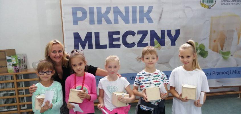 """""""Mlecznym szlakiem – cykl spotkań informacyjnych dla dzieci i młodzieży"""""""