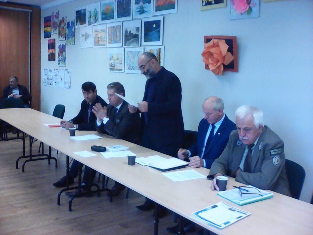 Posiedzenie Rady Powiatowej Podlaskiej Izby Rolniczej w Mońkach