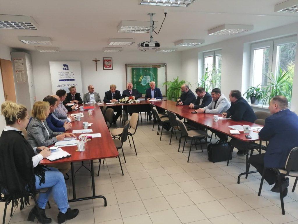 Spotkanie z przewodniczącymi Rad Powiatowych PIR