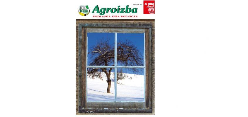Agroizba nr 4 (85) październik-grudzień 2019