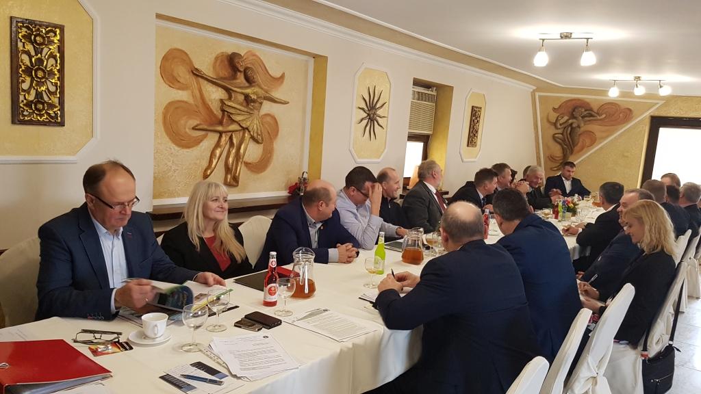Wspólne posiedzenie Rad Powiatowych PIR