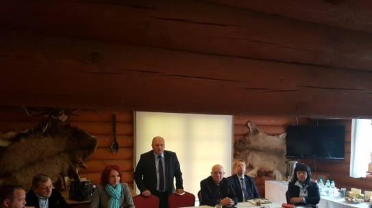 Wspólne posiedzenie Rad z powiatów kolneńskiego, łomżyńskiego i zambrowskiego