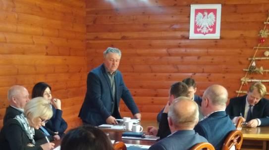 Wspólne posiedzenie Rad Powiatowych Podlaskiej Izby Rolniczej powiatu bielskiego i hajnowskiego.