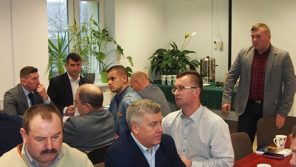 Spotkanie delegatów z udziałem europosła Krzysztofa Jurgiela dotyczące problemów w rolnictwie