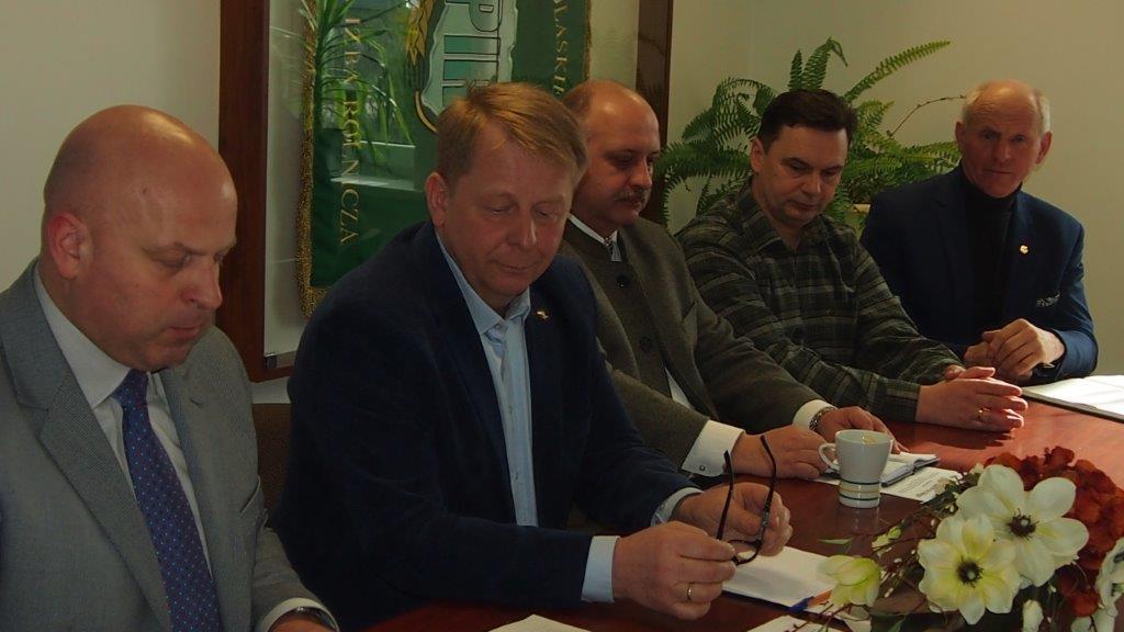 Spotkanie Zarządu z Przewodniczącymi Rad Powiatowych Podlaskiej Izby Rolniczej