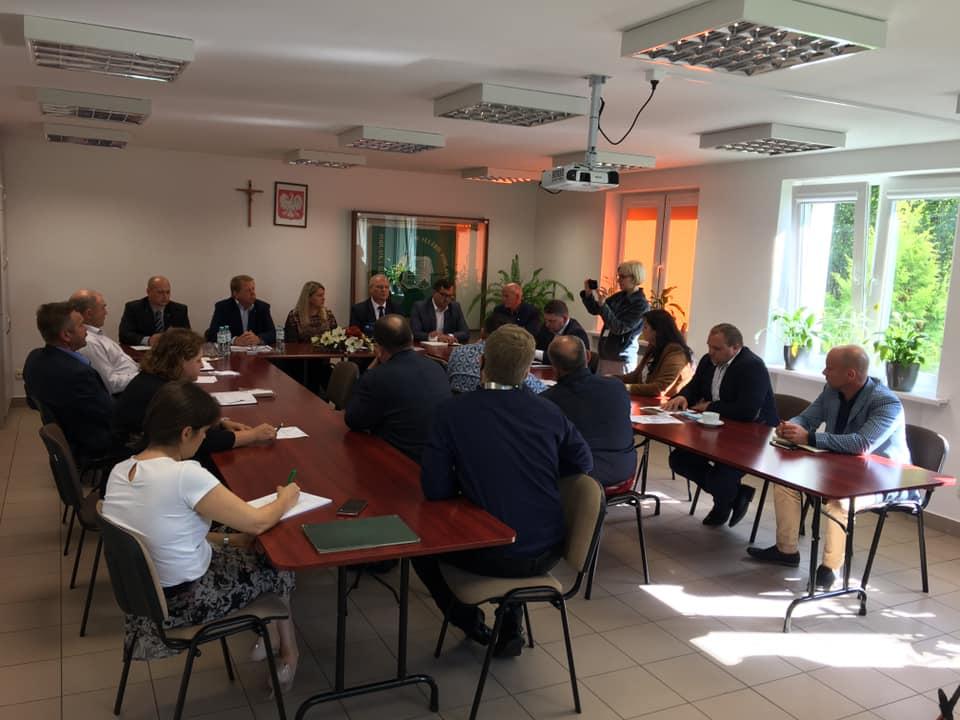 Spotkanie Przewodniczących Rad Powiatowych Podlaskiej Izby Rolniczej