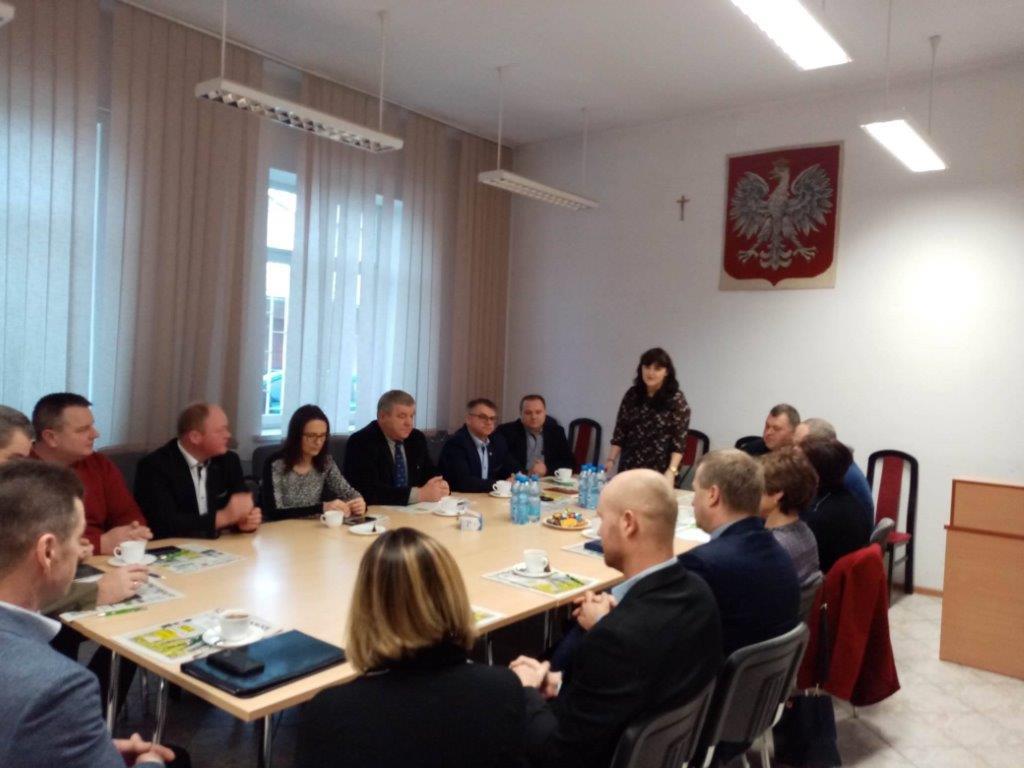 Posiedzenie Rady Powiatowej Podlaskiej Izby Rolniczej w Sejnach 07.01.2020 r.