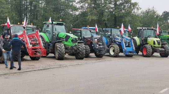 Strajk Rolników 21.10.2020 Szypliszki