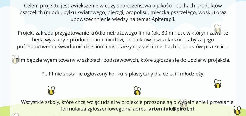 """Podlaska Izba Rolnicza zaprasza do udziału w projekcie pt.""""Produkty pszczelim woskiem pachnące""""!"""