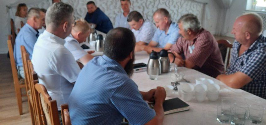 VI posiedzenie Rady Powiatowej Podlaskiej Izby Rolniczej w Siemiatyczach